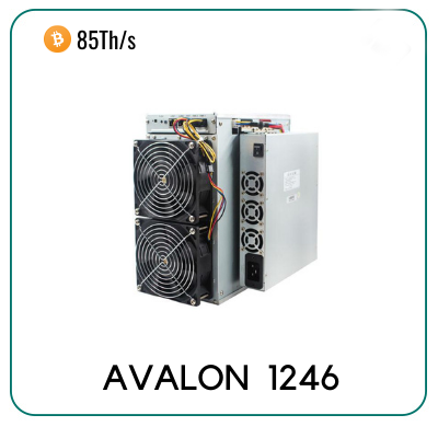 Canaan Avalon 1246 85th/s Miner for sale