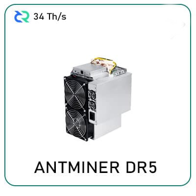 Bitmain Antminer DR5 (34Th) for sale