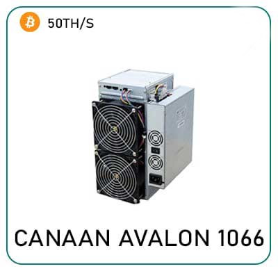 Canaan Avalon 1066 50Th/s Miner for sale